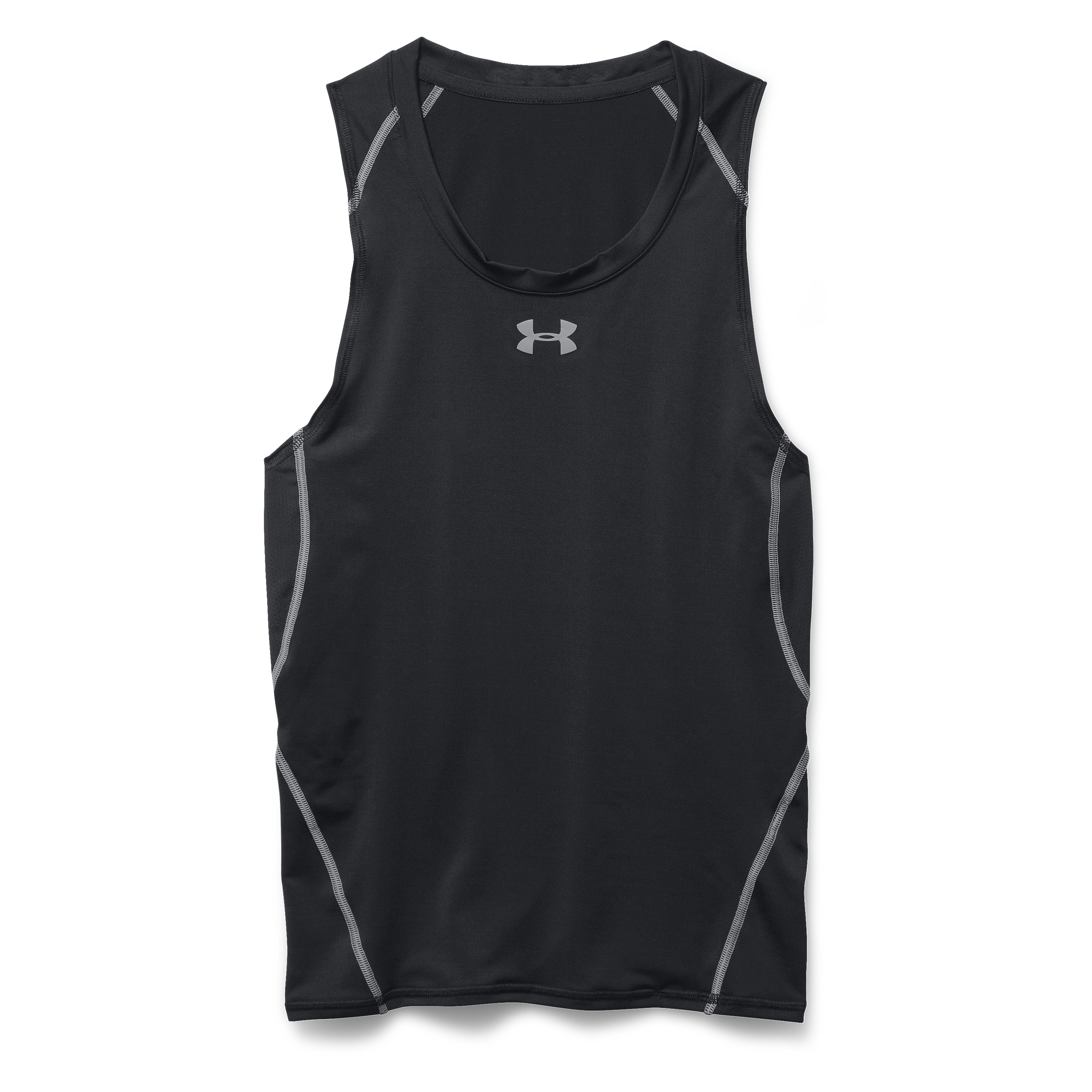 Under Armour Tank-Top Heatgear Armour schwarz-grau