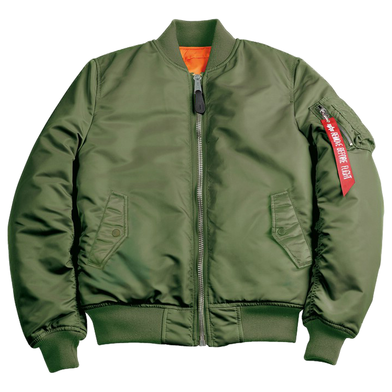 finest selection c9c46 0b523 Alpha Industries Damen Fliegerjacke MA-1 SF WMN grün