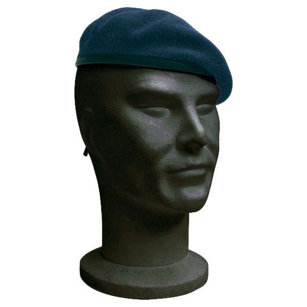 Französisches Barett dunkelblau