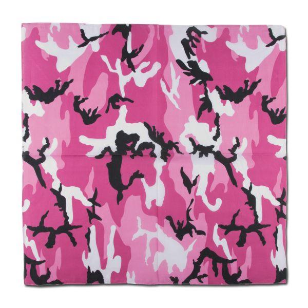 Bandana pink camo