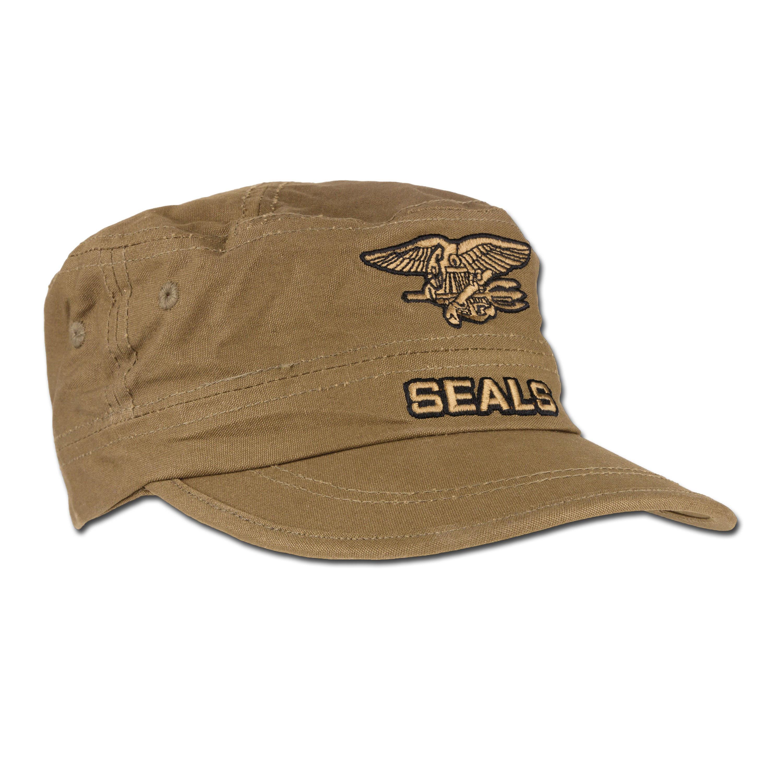 Seals Cap Mil-Tec coyote