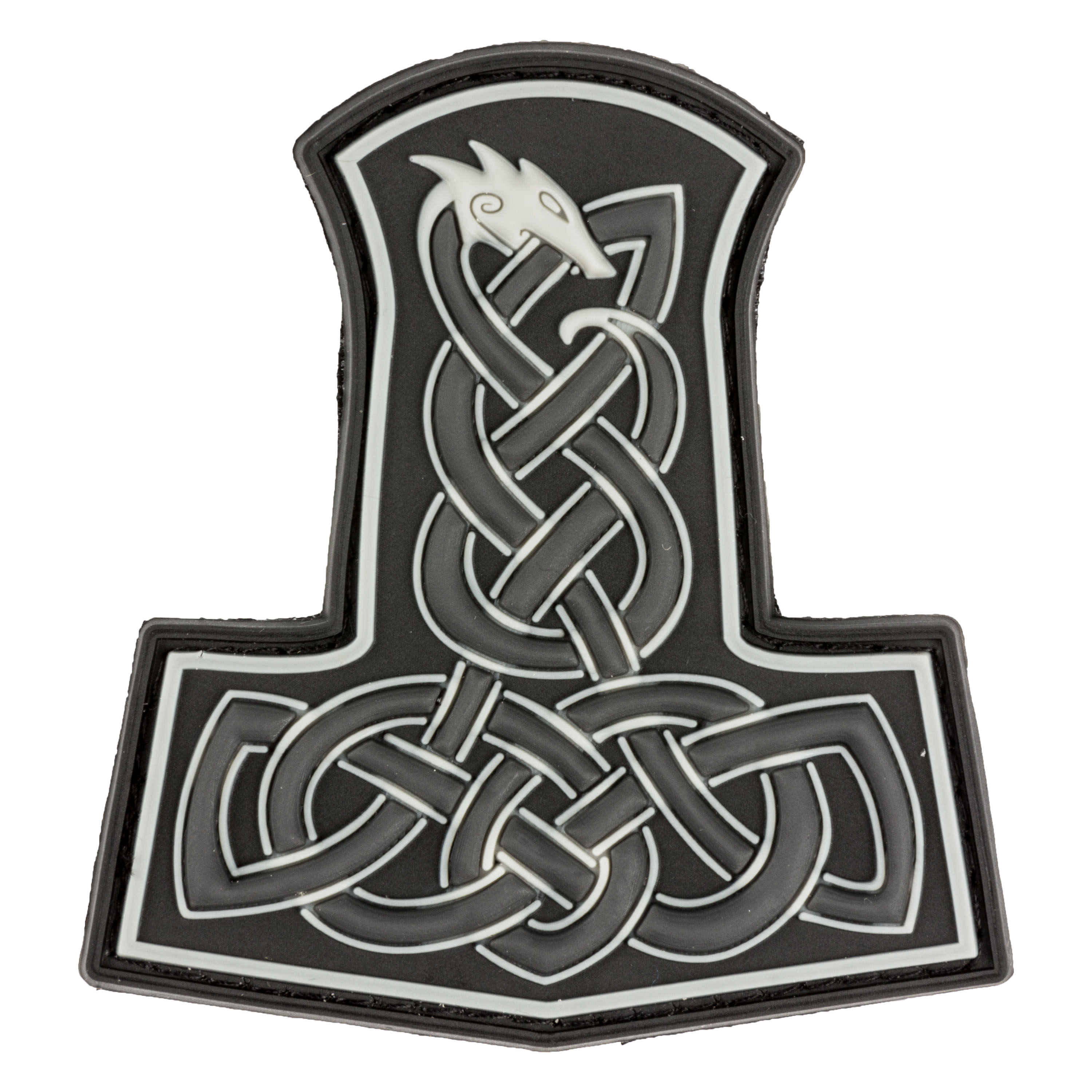 3D Patch Dragon Thors Hammer swat