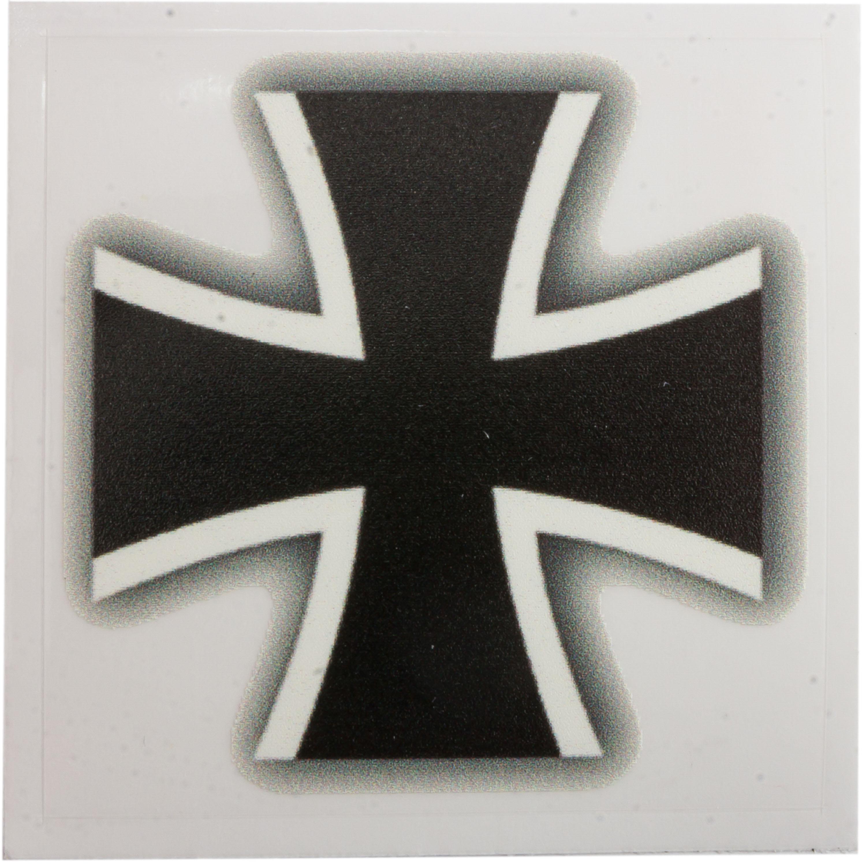 Café Viereck Autoaufkleber Eisernes Kreuz