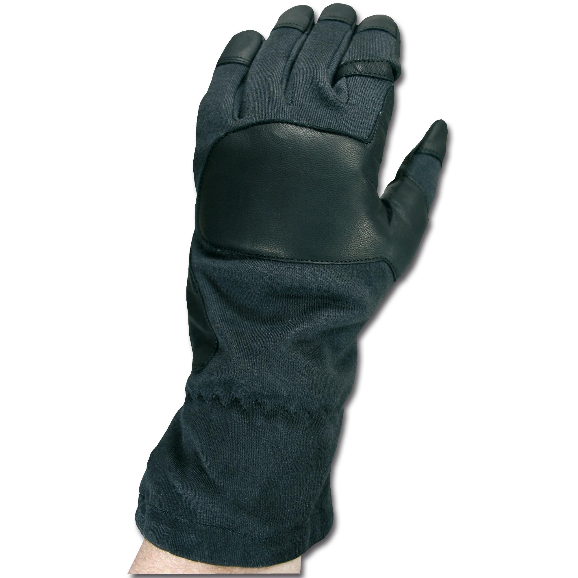 Handschuhe Aramid Action Gloves schwarz