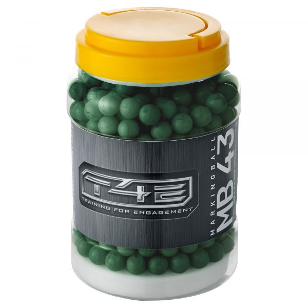 T4E Home Defense Marking Balls Kaliber .43 500 Stück grün