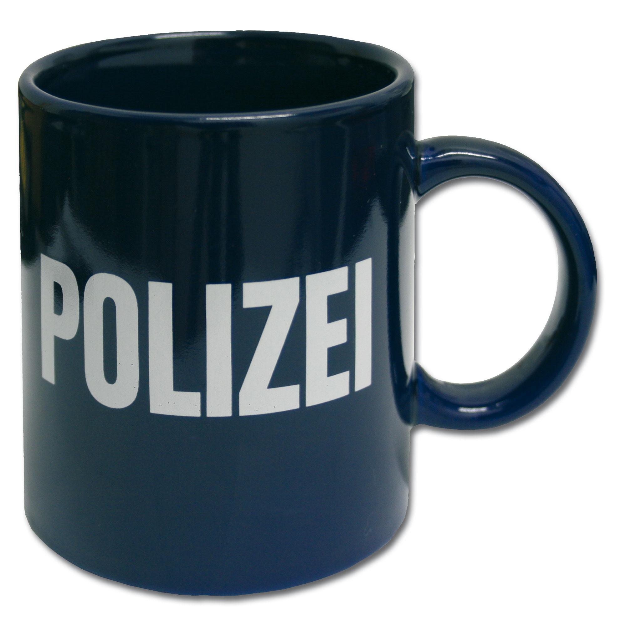 Tasse POLIZEI