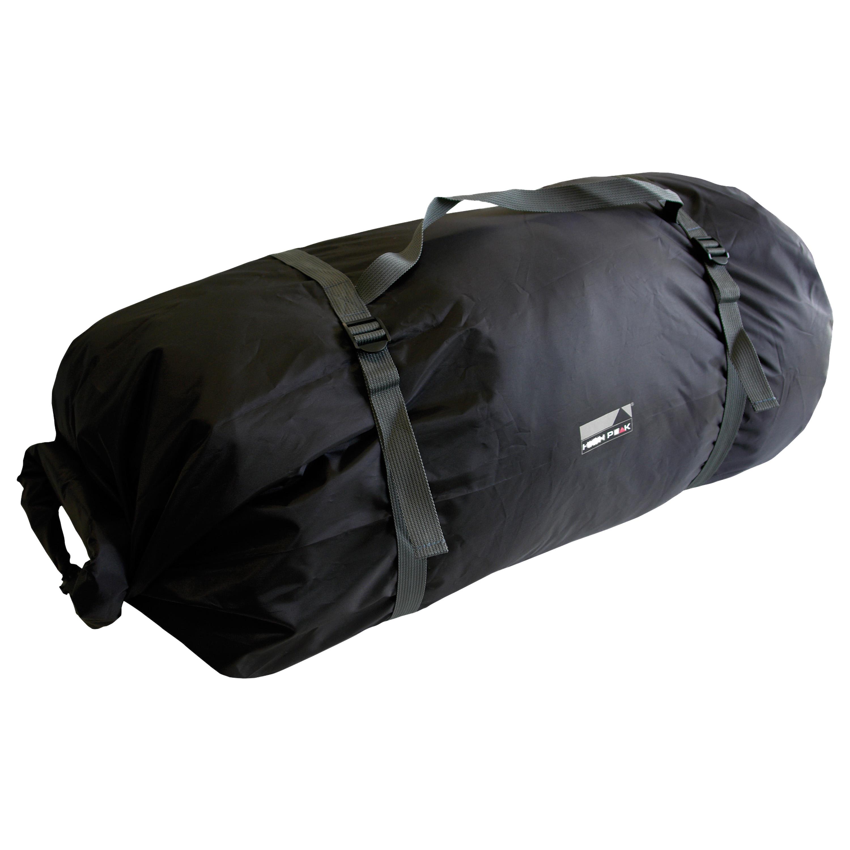 High Peak Zelt Rollpacktasche schwarz klein
