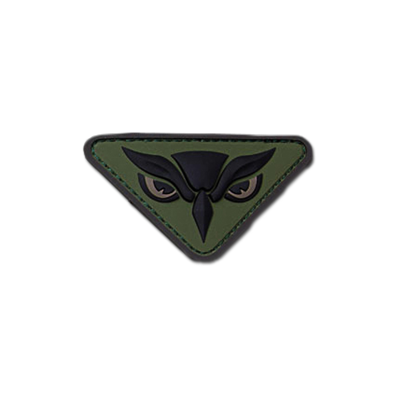 MilSpecMonkey Patch Owl Head forest