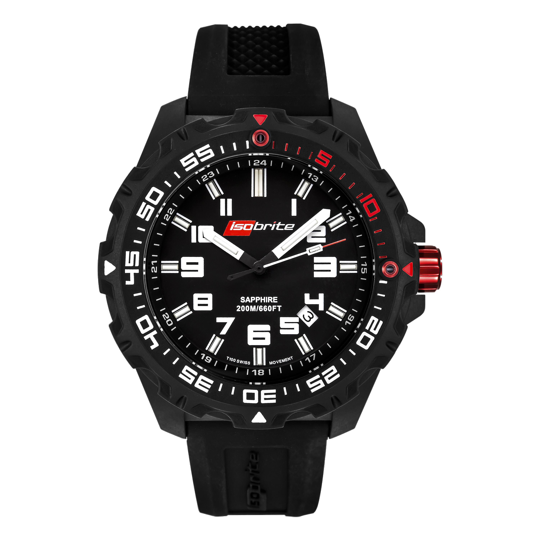 ArmourLite Uhr Ultra Bright Iso100 schwarz