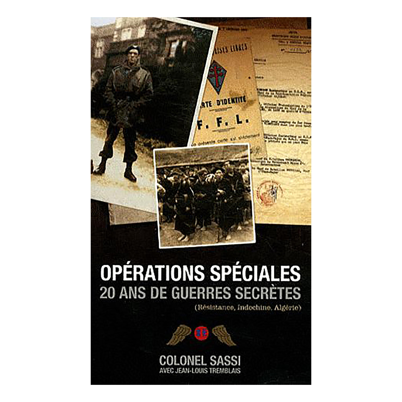 Buch Opérations spéciales 20 ans de guerres secrètes OT