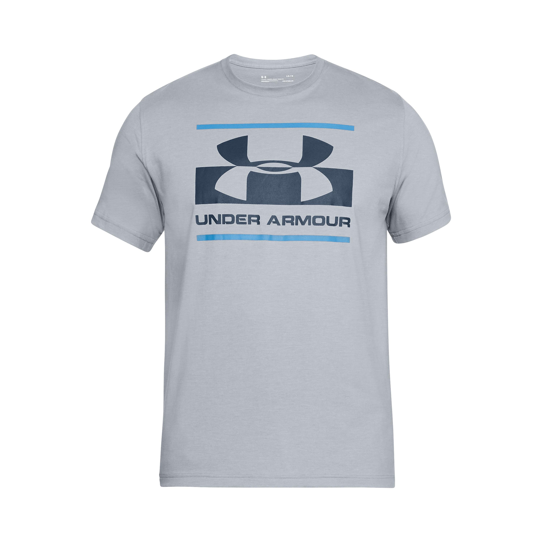 Under Armour Shirt Blocked Sportstyle grau