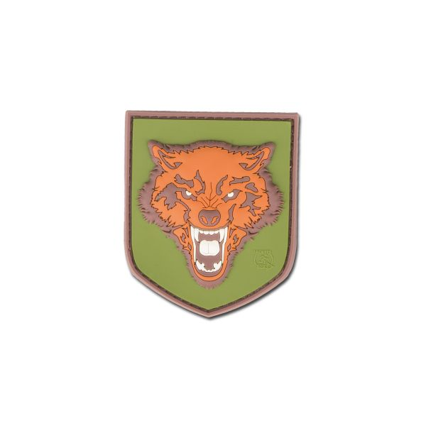 3D-Patch Wolf small fullcolor