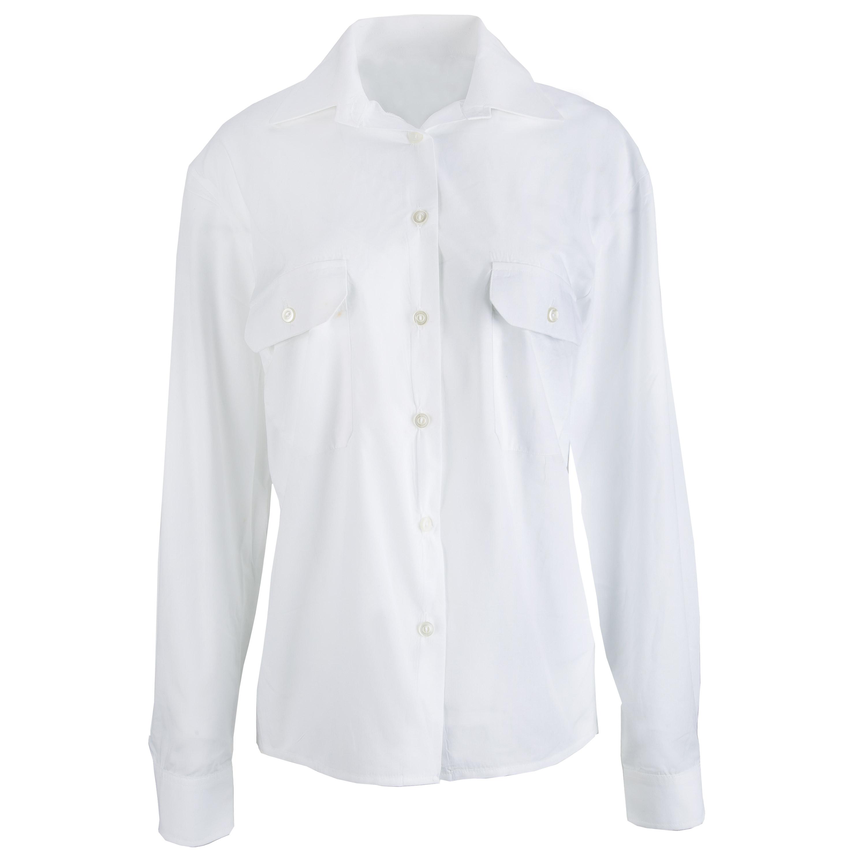 BW Diensthemd Damen Langarm weiß gebraucht