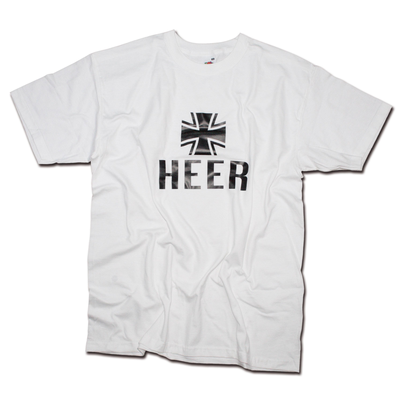 T-Shirt Milty Heer weiss