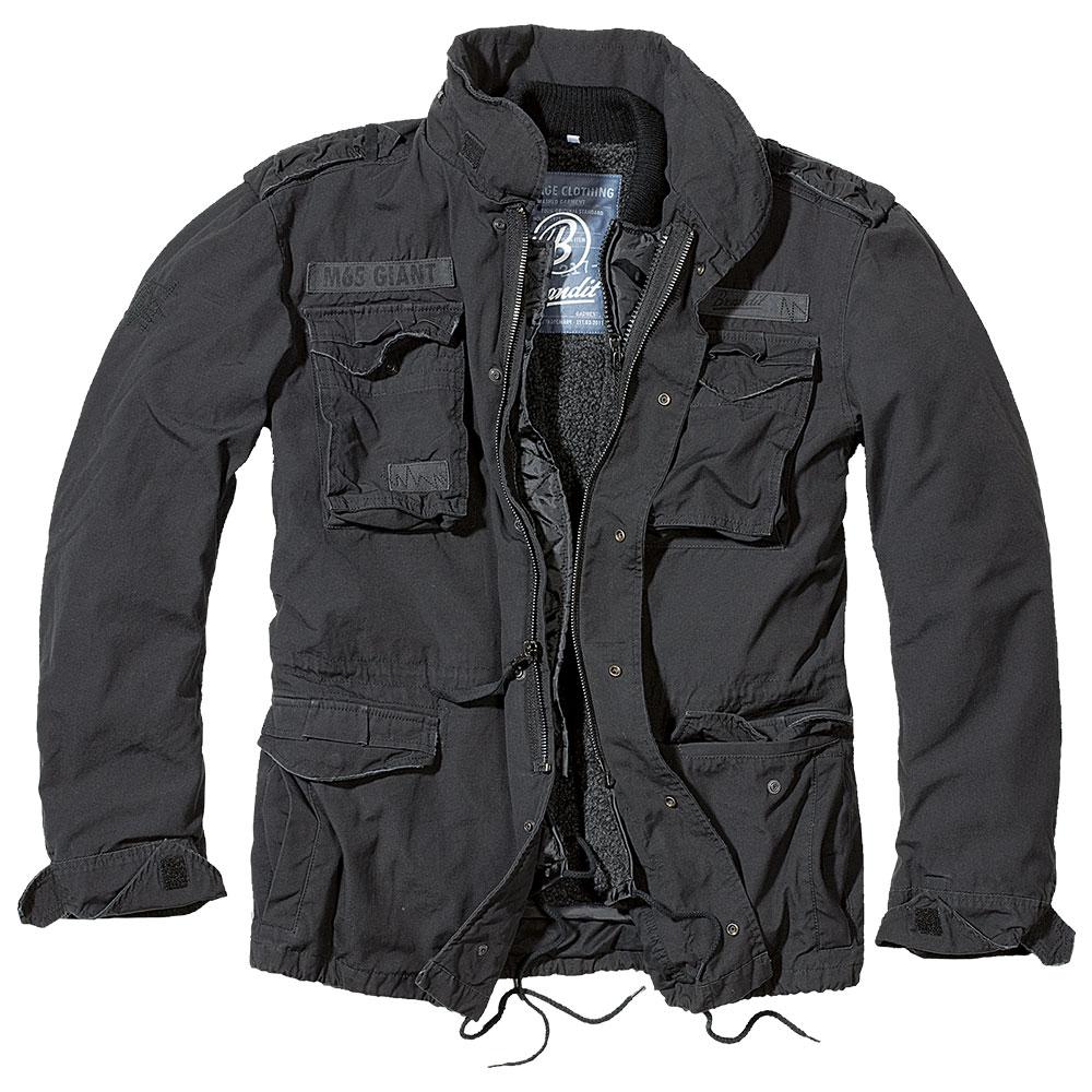 Brandit Jacke M-65 Giant schwarz