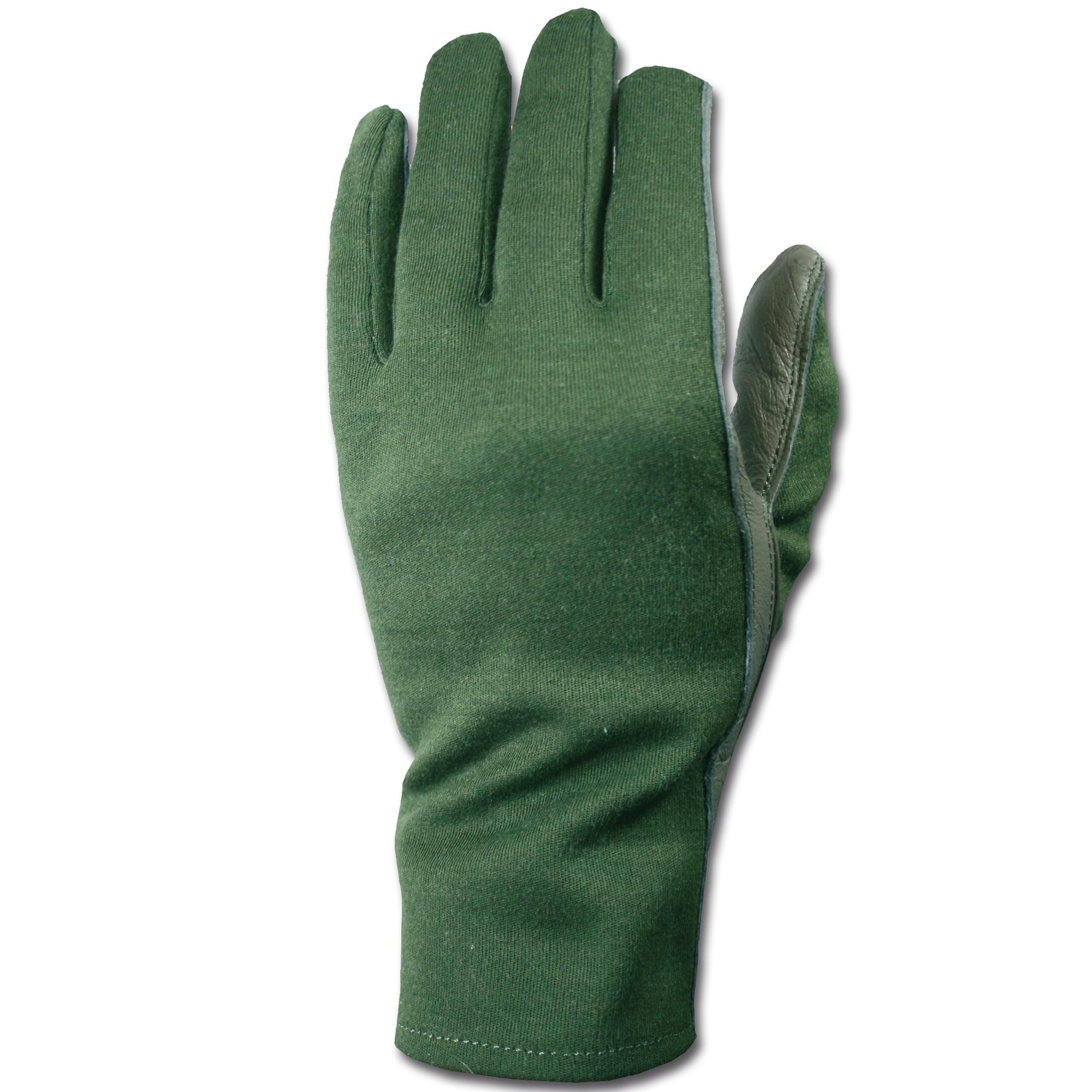Handschuhe flammhemmend oliv