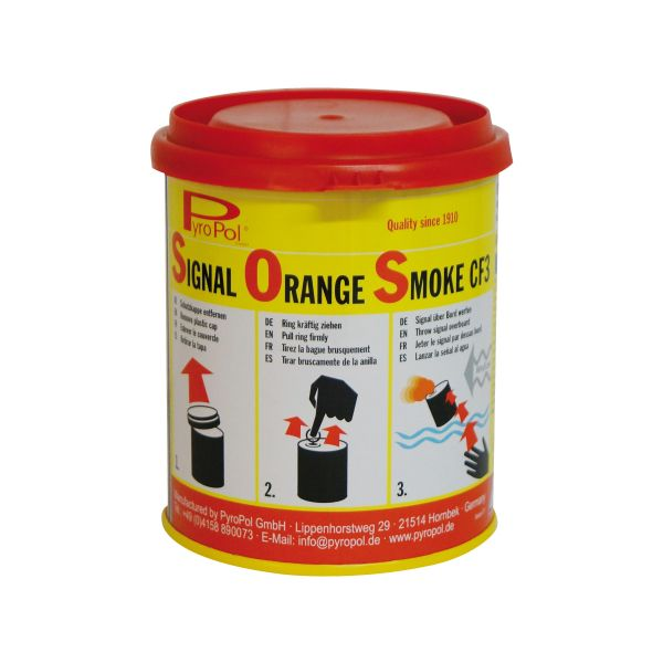 Rauchsignal CF3 orange