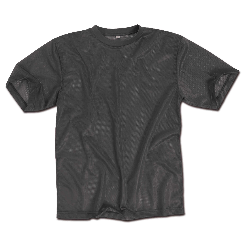 T-Shirt Mesh schwarz