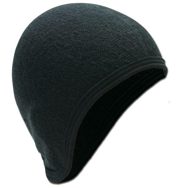 Woolpower Helmmütze 400 schwarz
