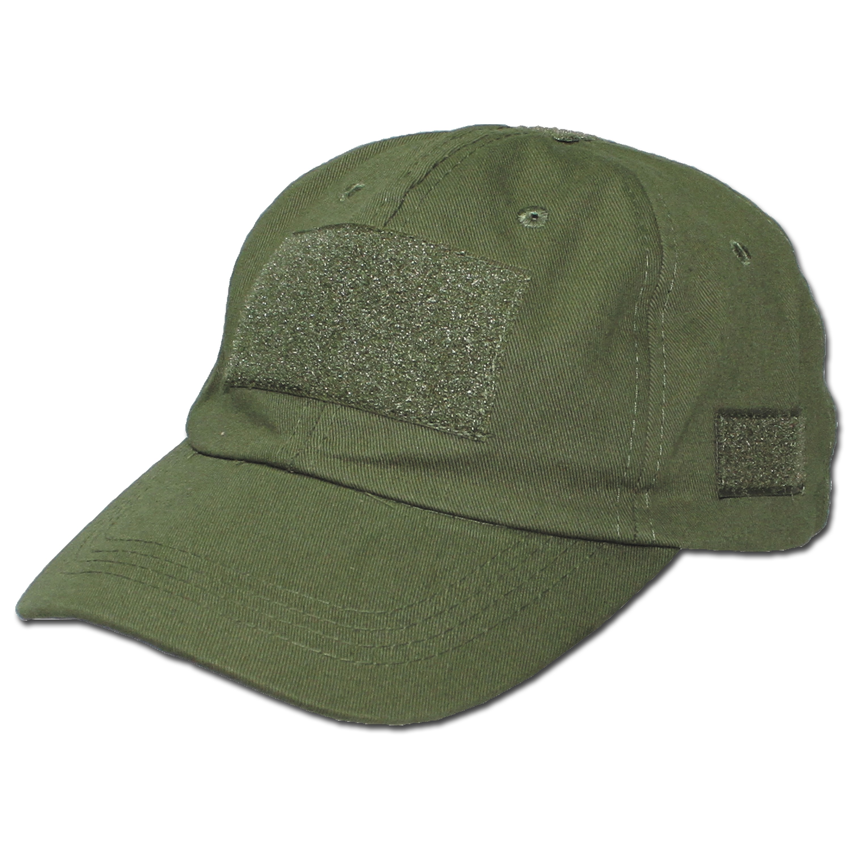 Einsatz-Cap mit Klett Universalgröße oliv