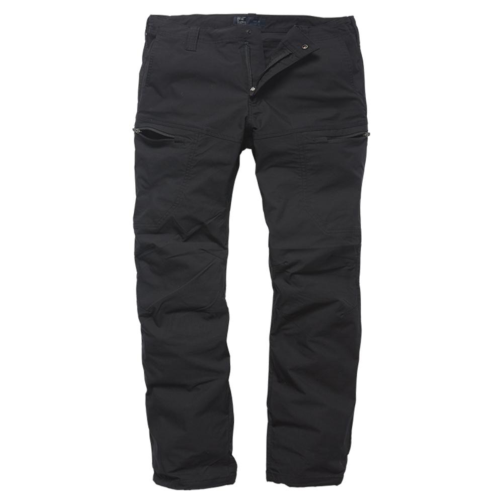 Vintage Industries Hose Kenny Technical Pants schwarz