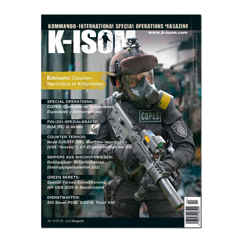 Kommando Magazin K-ISOM Ausgabe 04-2016
