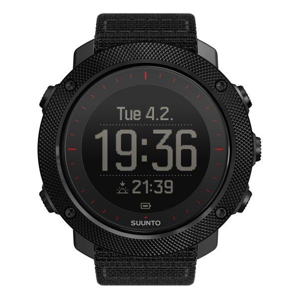 Suunto Uhr Traverse Alpha Tac Edition schwarz rot
