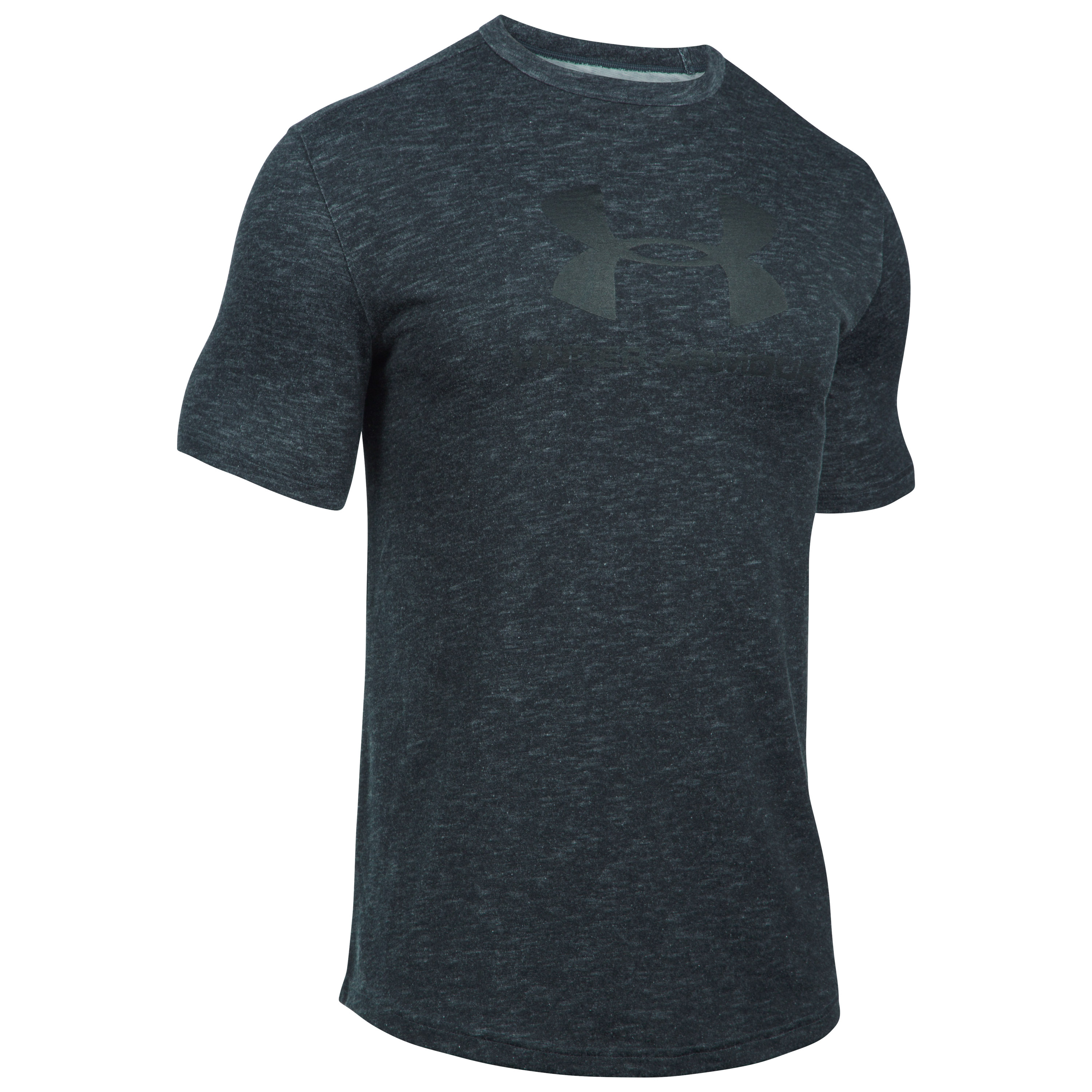 Under Armour Fitness T-Shirt Sportstyle Branded Tee schwarz