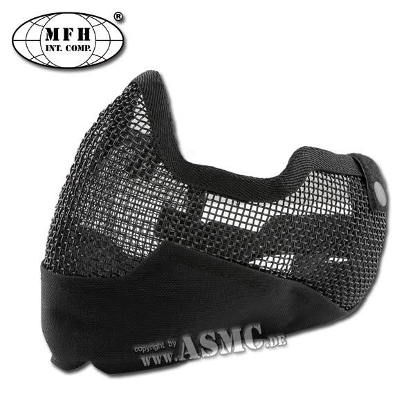 MFH Gesichtsmaske Airsoft schwarz