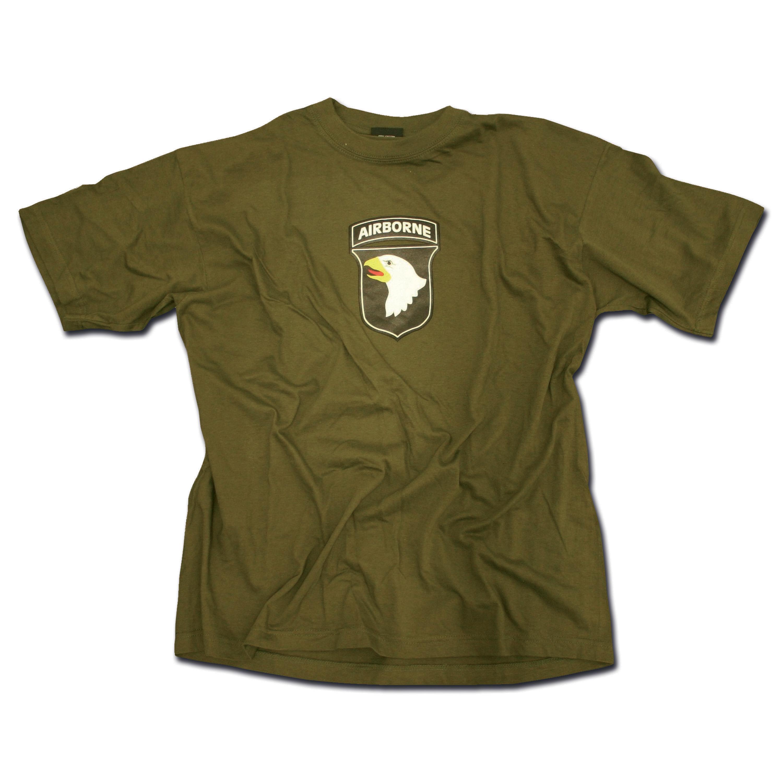 T-Shirt 101st Airborne Division oliv