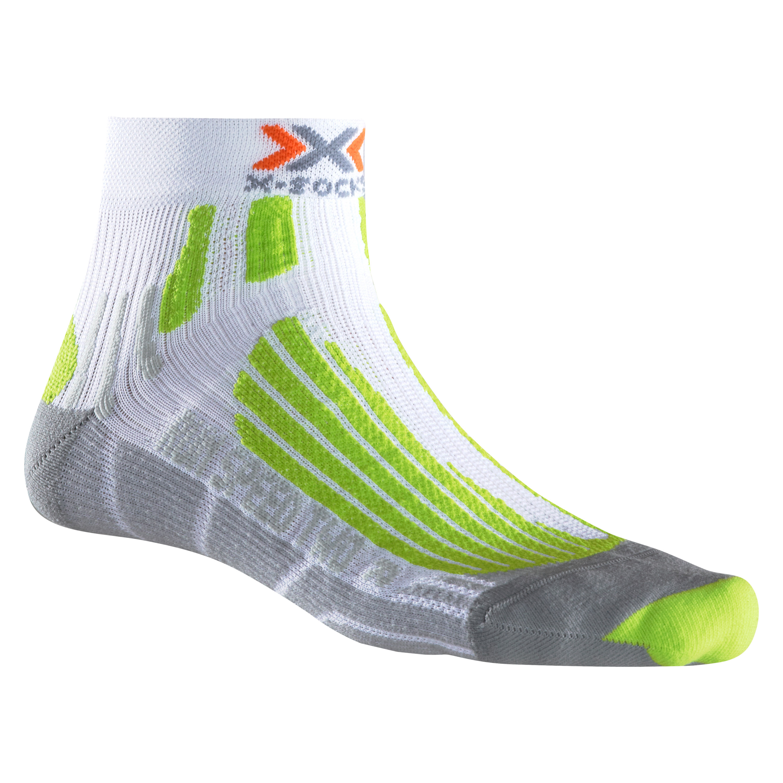X-Socks Socken Run Speed Two weiß grün