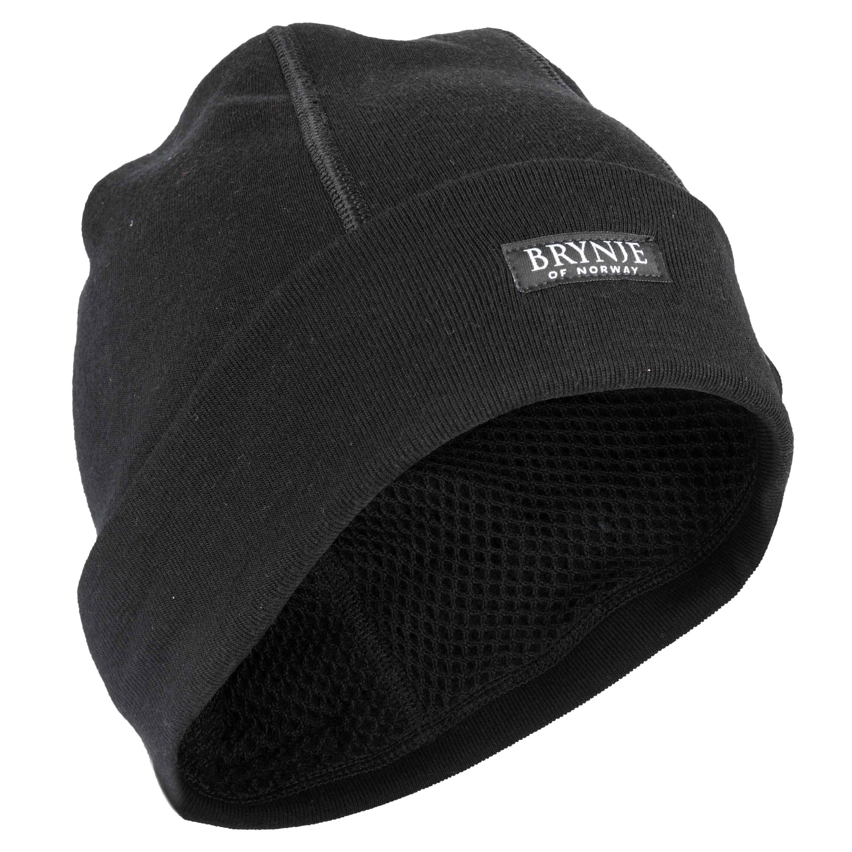 Brynje Mütze Arctic Double schwarz
