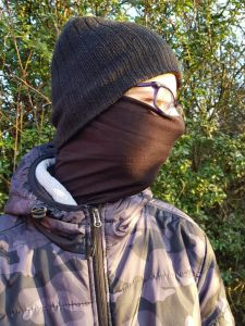 Headscarf schwarz
