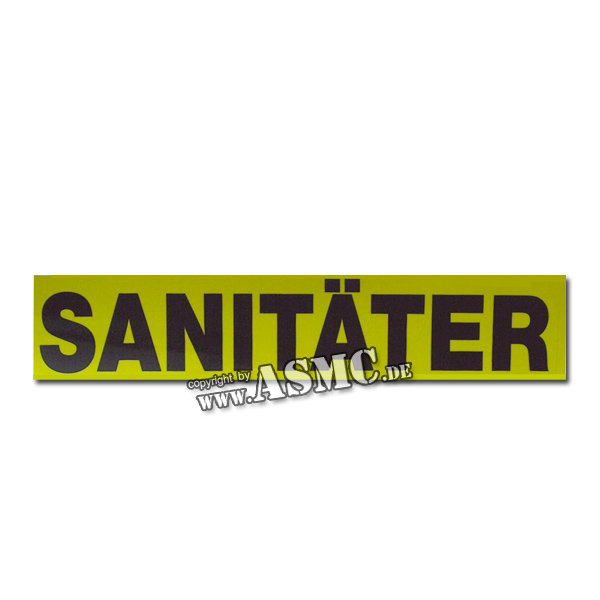 PVC Aufkleber Sanitäter