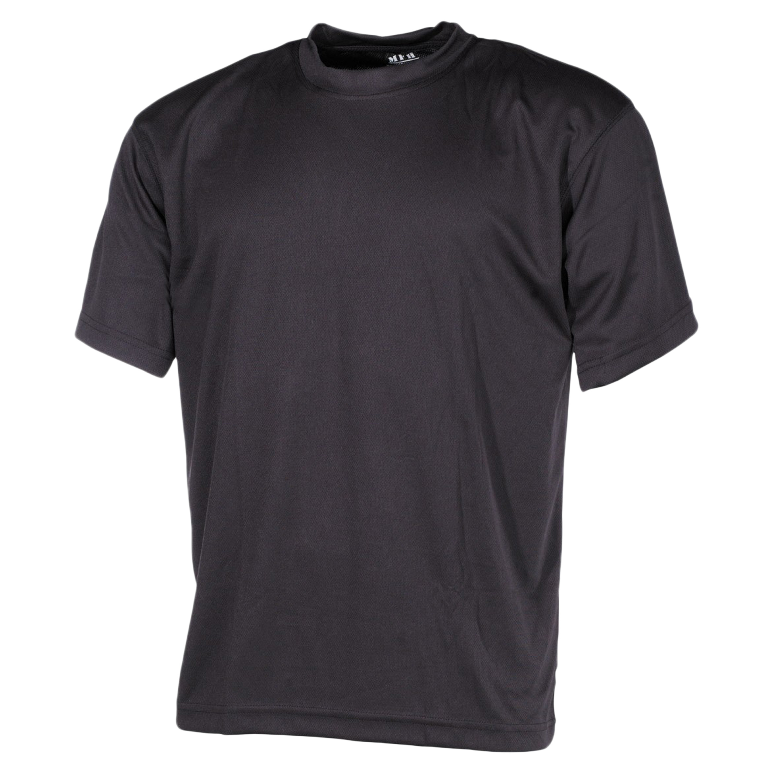MFH T-Shirt Tactical schwarz