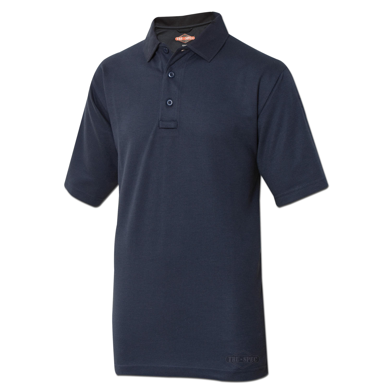 Polohemd Tru-Spec 24-7 Kurzarm blau