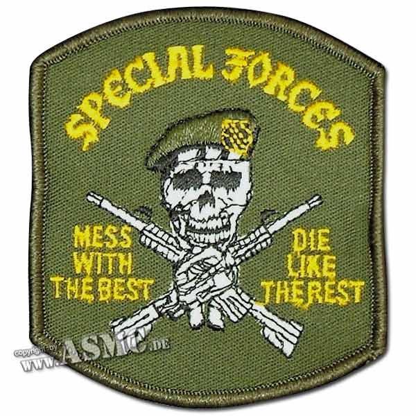Abzeichen US Textil Special Forces US