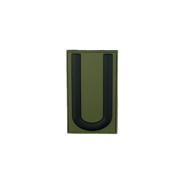 3D-Patch Dienstgradabzeichen Unteroffizier forest