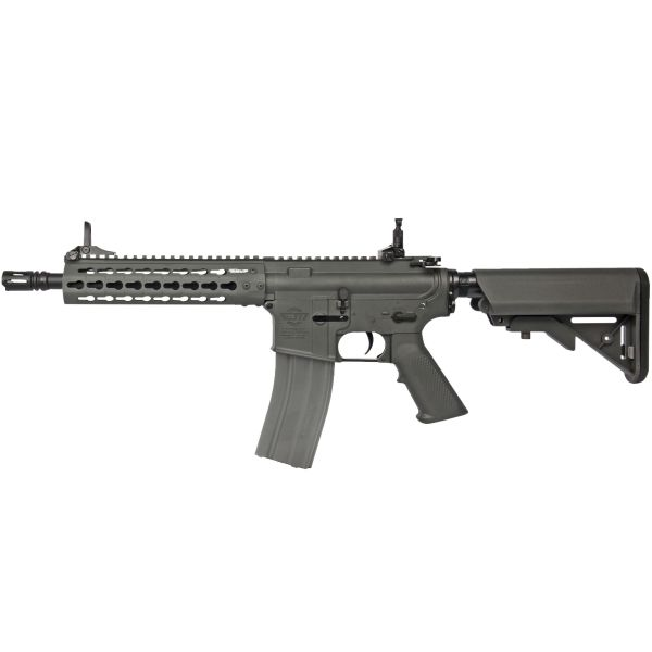 G&G Airsoft Gewehr CM15 KR CQB 8.5 Inch 0.5 J AEG grau