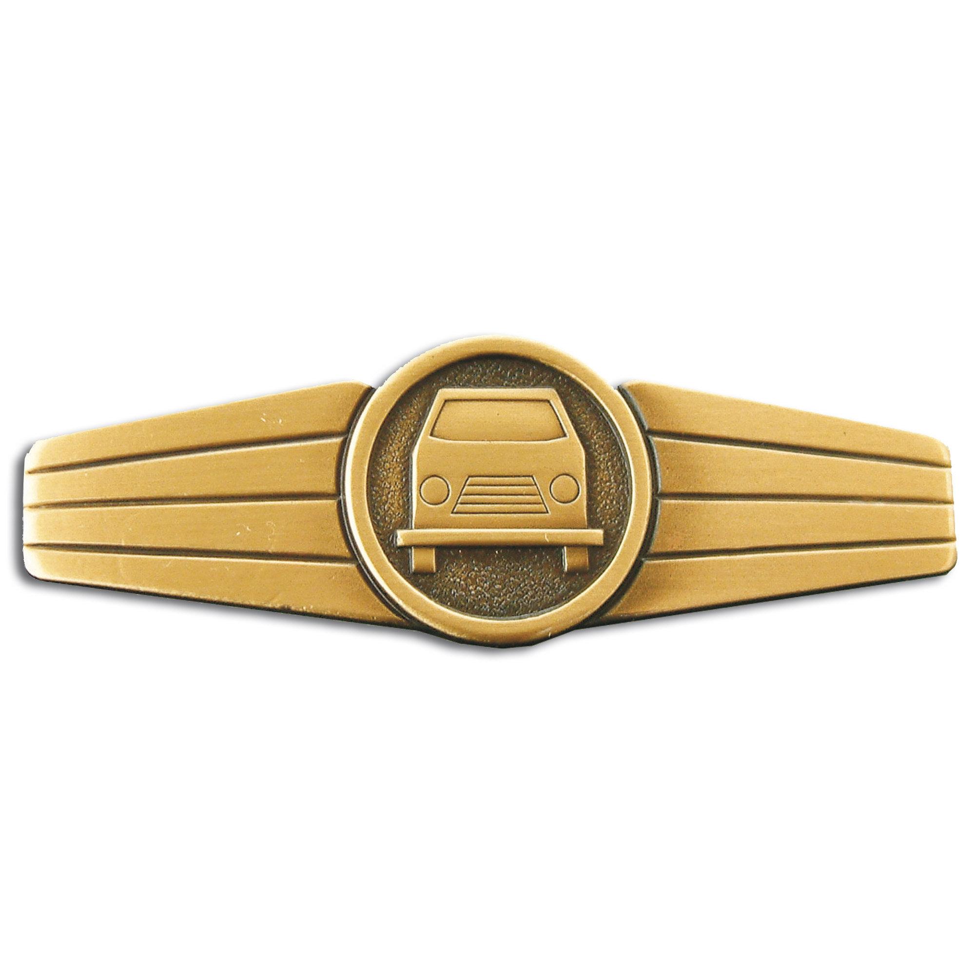 Abzeichen BW Kraftfahrpersonal Metall bronze