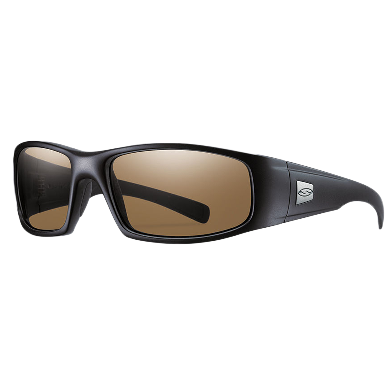 Smith Optics Brille Hideout Elite schwarz polarized braunes Glas