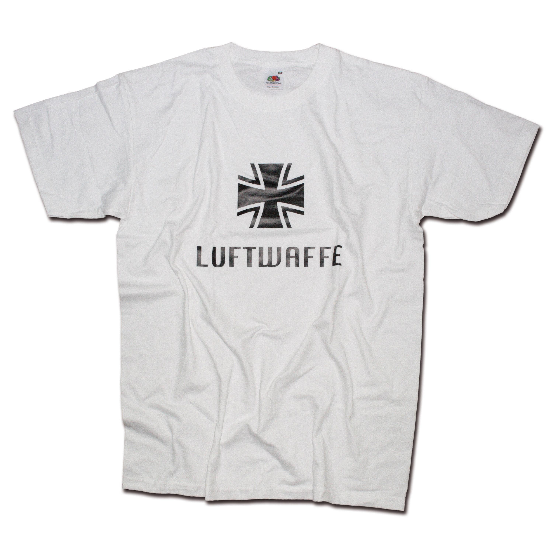 T-Shirt Milty Luftwaffe weiss