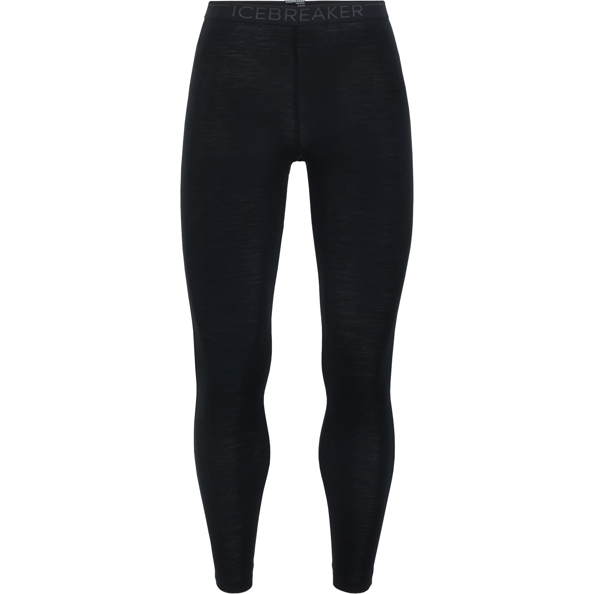 Icebreaker Leggings Everyday Merino schwarz monsoon