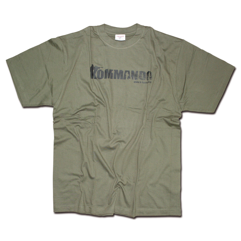 Kommando T-Shirt Basic oliv