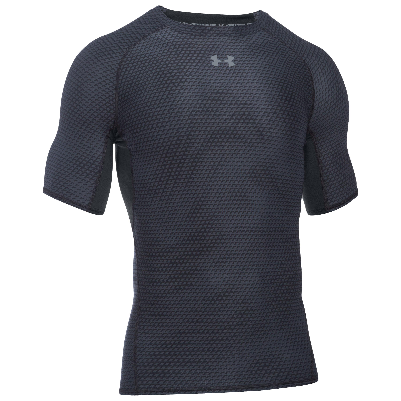 Under Armour Compression T-Shirt HeatGear schwarz II