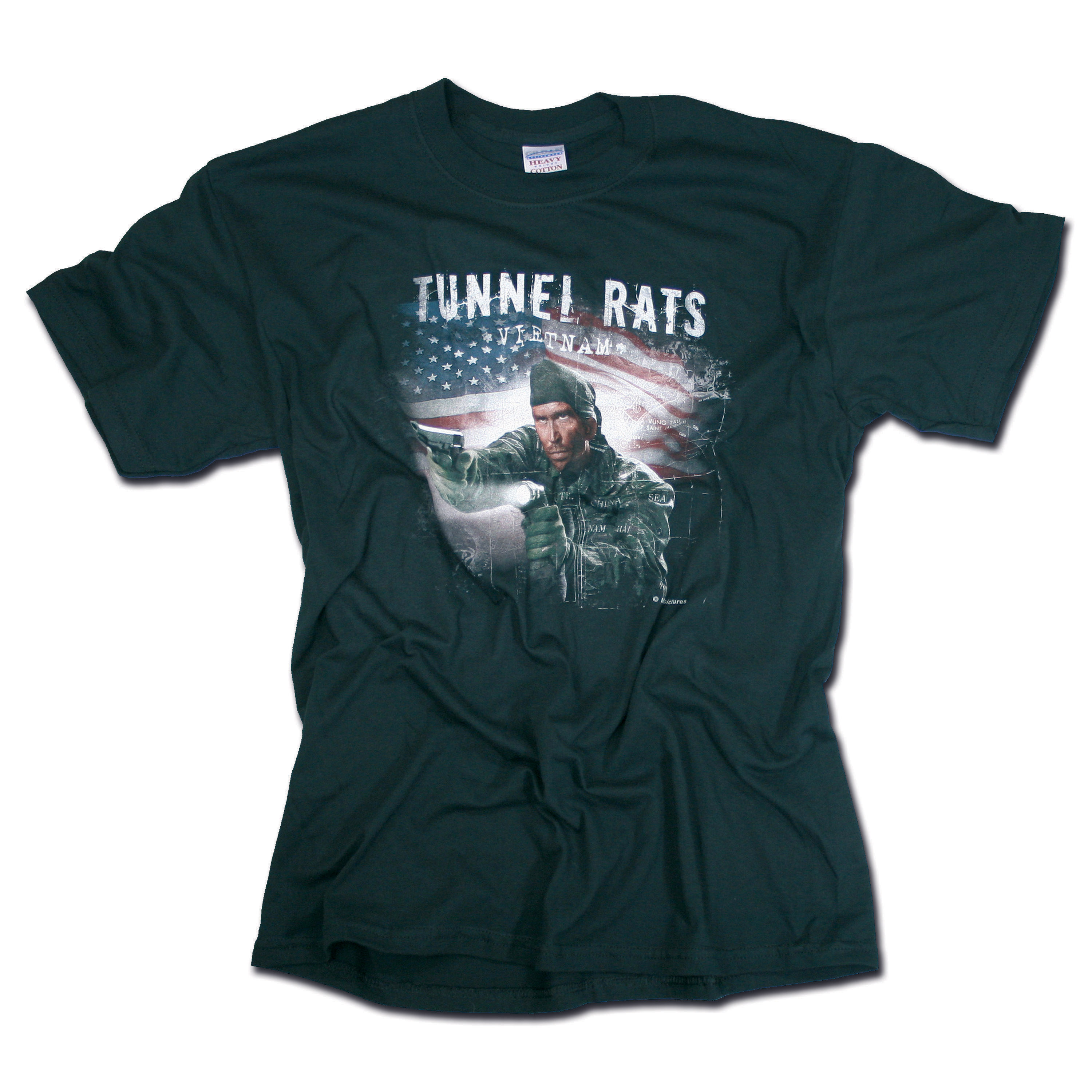 T-Shirt Mil-Pictures Tunnel Rats