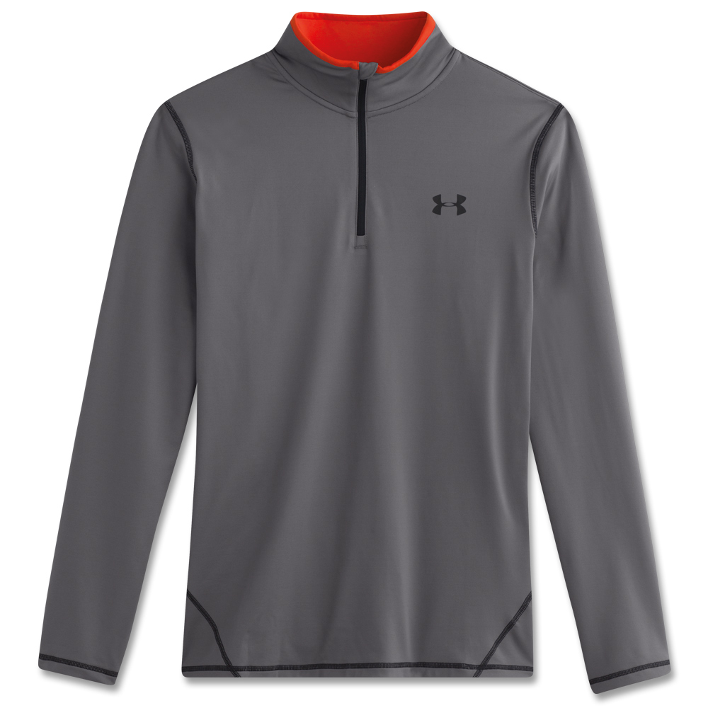 Under Armour Cold Gear Shirt 1/4 Zip grau