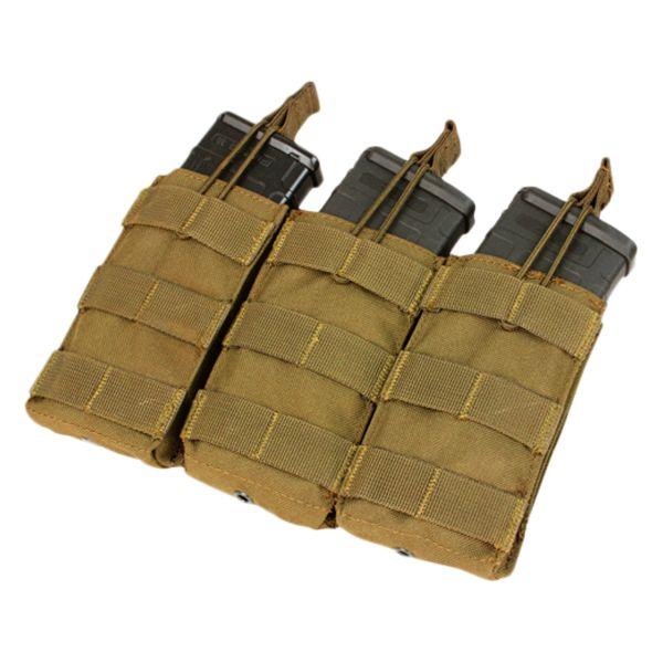 Condor Magazintasche dreifach für M4/M16-Magazine coyote braun