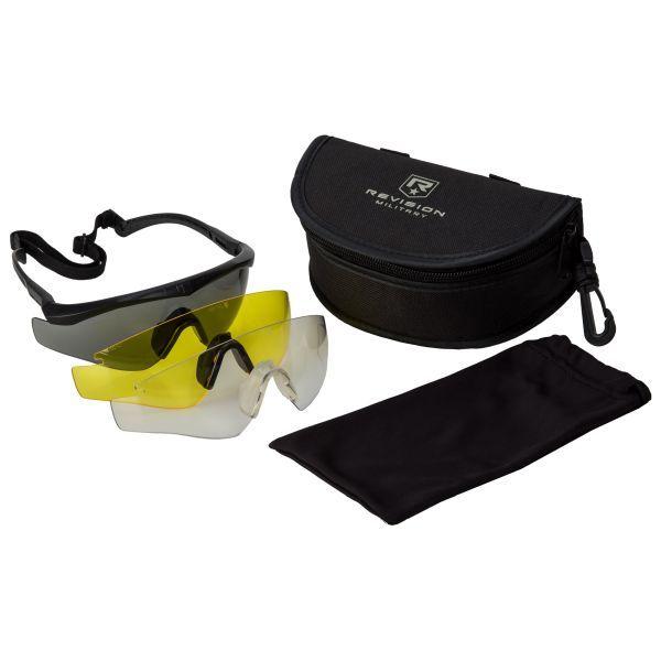 Brille Revision Sawfly MAX-Wrap Mission Kit regular schwarz