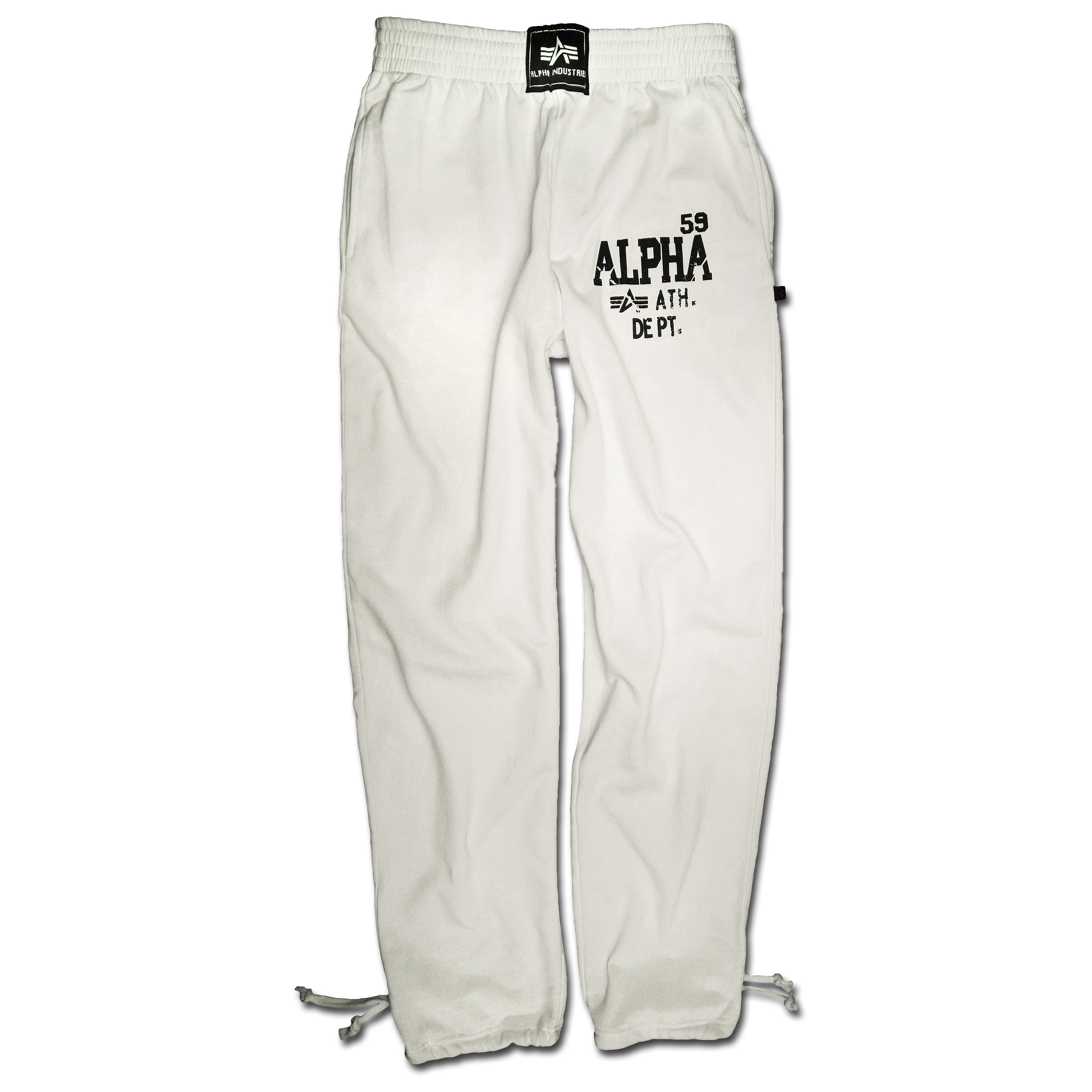Sweatpants Alpha Athletic Department weiss